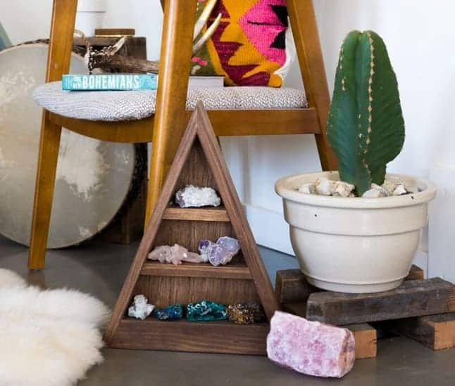 crystals positive vibes home