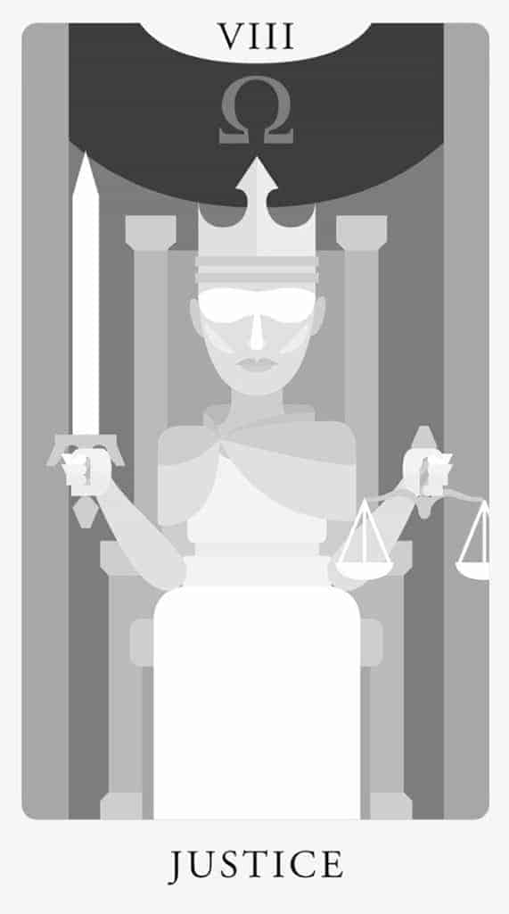 justice tarot yes no