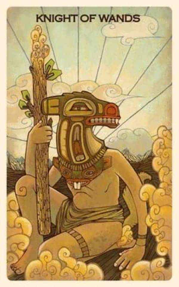 knight of wands love