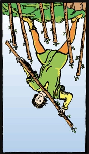 reversed seven of wands