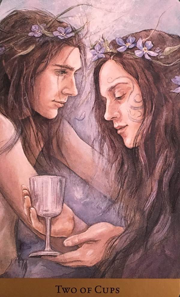 two of cups love meaning