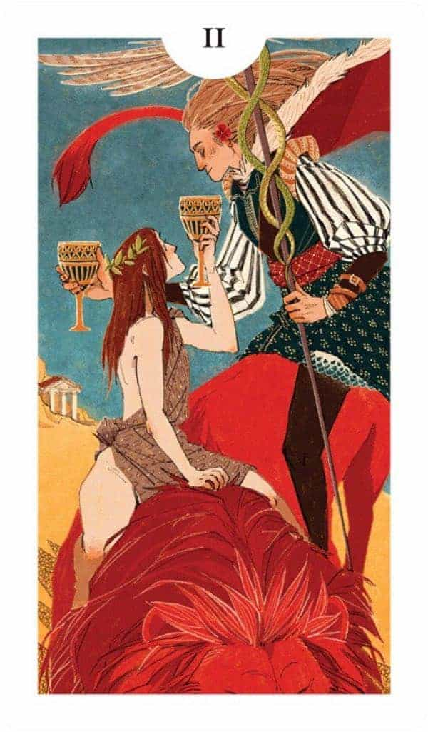 two of cups love