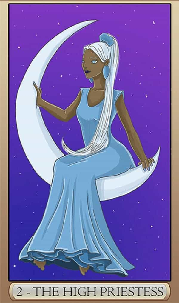 the high priestess yes or no