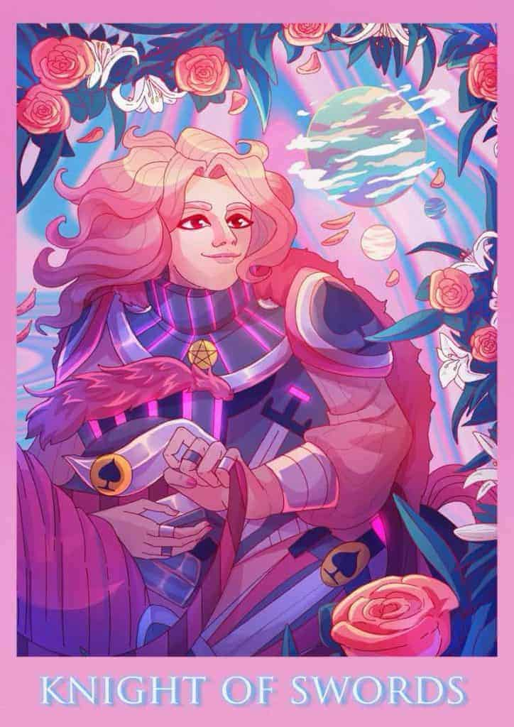 knight of swords as a person