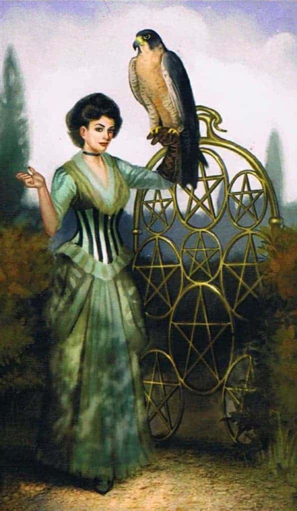 nine of pentacles tarot yes or no