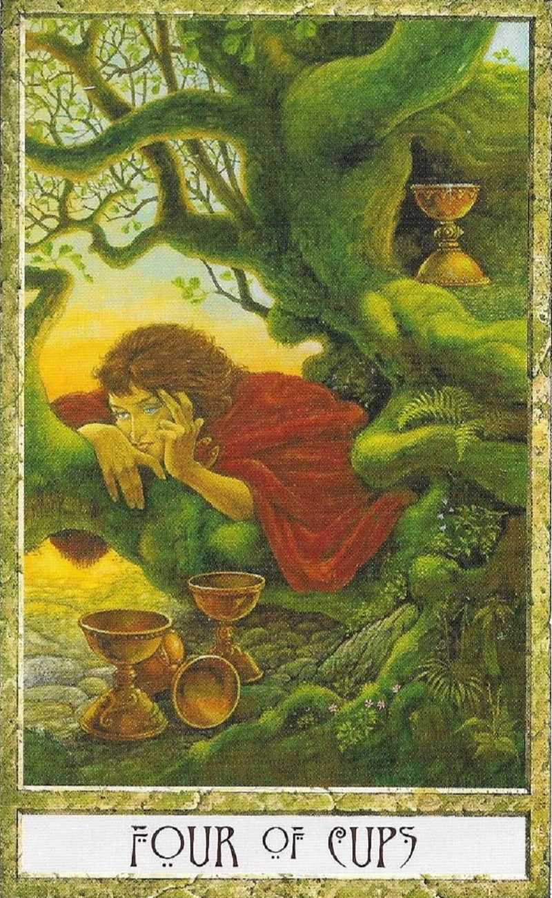 four of cups psychic revelation