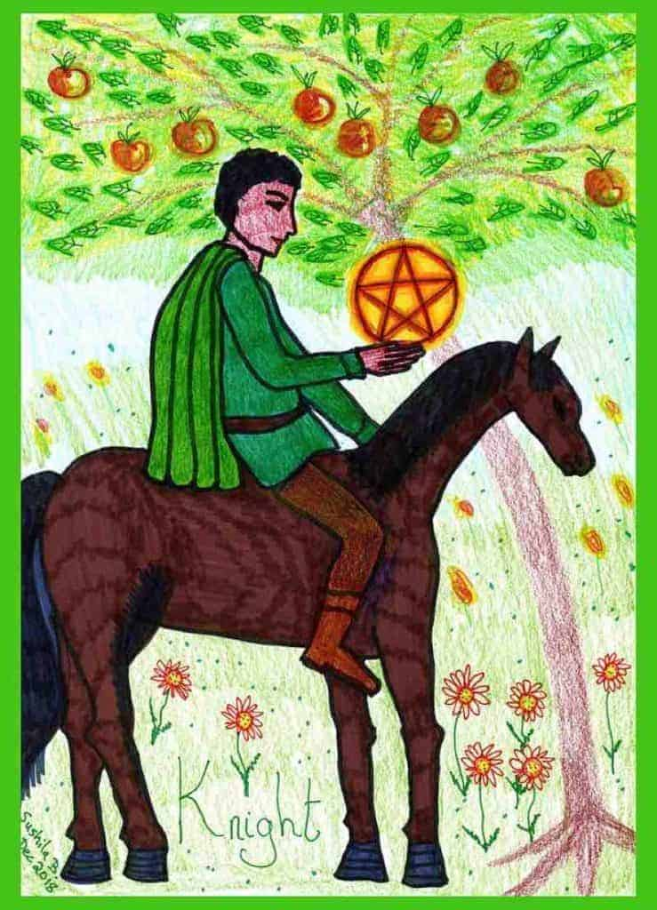 knight of pentacles meaning