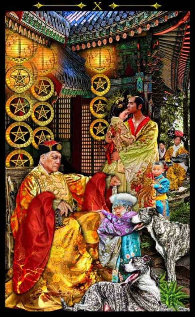 ten of pentacles meaning