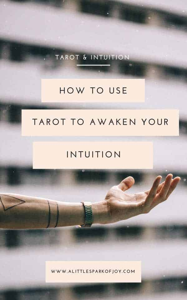 intuition and tarot