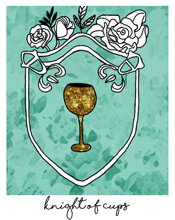 knight of cups as love card