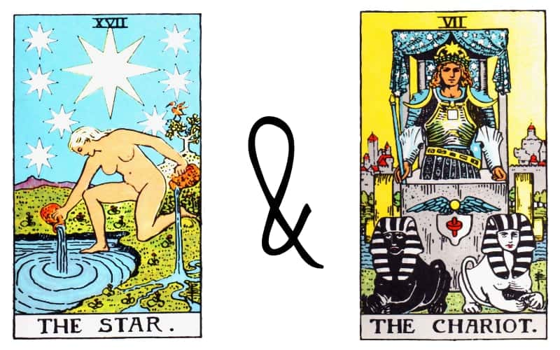 the star and chariot card combination tarot