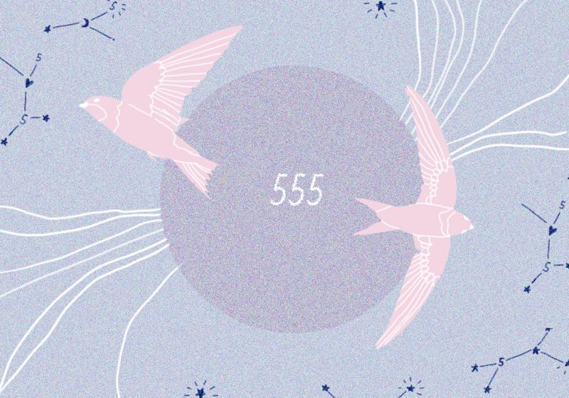 angel number 555 love meaning