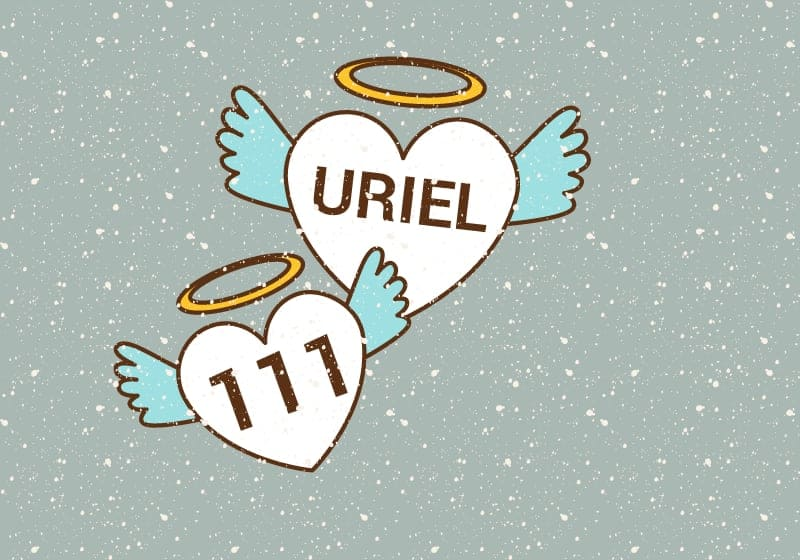 archangel uriel reaching out through angel number 111