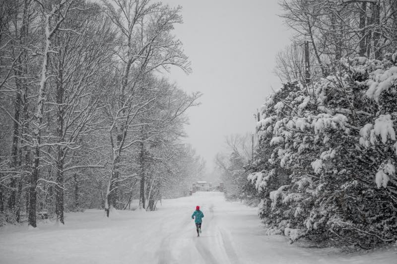 exercise in winter